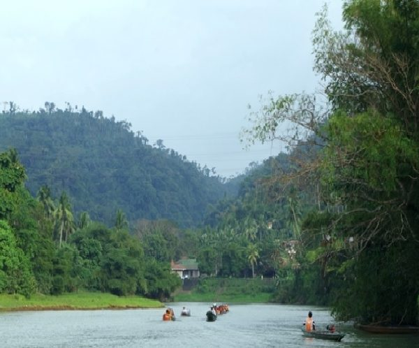 [일일투어]팍상한폭포 보트관광 (Pagsanjan Falls)